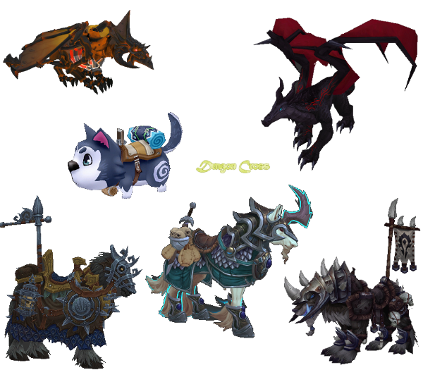 Flyff Mounts